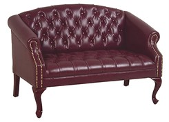 Queen Ann Traditional Love Seat
