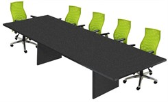 "Rectangular Conference Tables w/ Pop-Up Power/Communication Modules -- 36"" x 72"" Table"