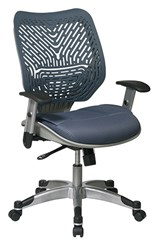 Revv Ergonomic Flex Back Chair in Blue Mist
