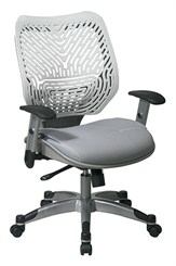 Revv Ergonomic Flex Back Chair in Ice/Shadow