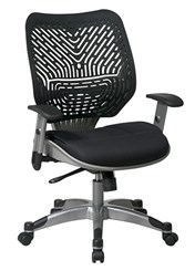 Revv Ergonomic Flex Back Chair in Raven Black