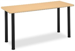 "72""W x 24""D Rectangular Table"