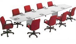 Boat-Shaped Conference Tables from 6'-18' in 21 Colors!