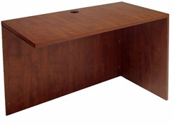 Cherry Reversible Desk Return