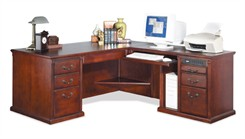Cherry Right Return L-Desk