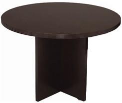 """Espresso 42"""" Round Discussion Table"""