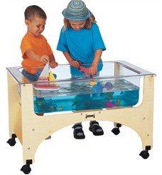 See-Through Sensory Table