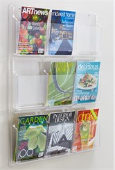 See-Through Acrylic Literature Display Racks