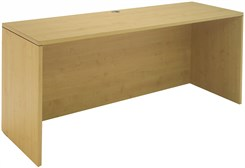 "Maple 71""W Double Shell/Desk Return"