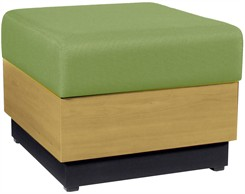 Contempo Single Bench in Healthcare Vinyl