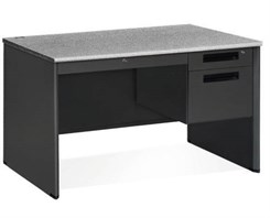 Steel Single Pedestal Desk