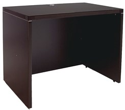"Mocha 36""W Single Shell Desk"