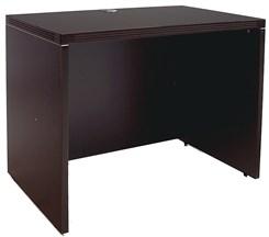 """Mocha 36""""W Single Shell Desk"""