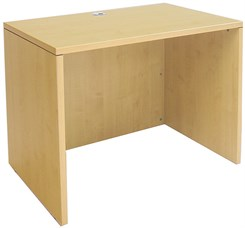 "Maple 36""W Single Shell Desk"