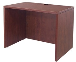 "Cherry 36""W Single Shell Desk"