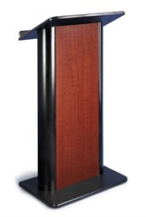 Sippling Seattle Java with Black Anodized Aluminum Lectern