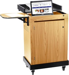 Smart Cart Multi Media Presentation Stand