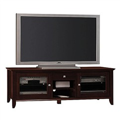 Sonoma Cherry Veneer 60&quot; Flat Panel Video Base