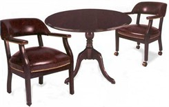 Solid Hardwood Traditional Conference Tables & Chairs