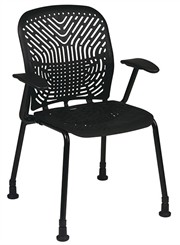 SpaceFlex Guest Chair w/ Glides & Armrests
