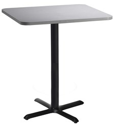 "36"" Square Cafeteria / Bar Height Table"