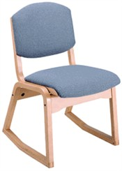 Stackable 2-Position Wood Chair