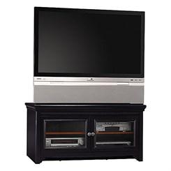 "Stanford Antique Black 60"" Flat Panel Video Base"