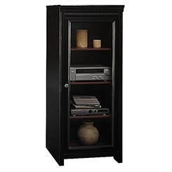 Stanford Antique Black Audio Cabinet