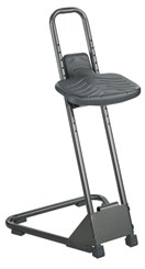 Adjustable Height Stand Alone Stool
