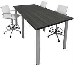Standing Height Conference Tables - 8� Length