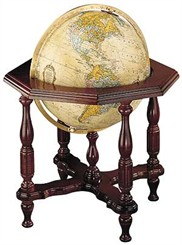 "20"" Illuminated Statesman Globe"