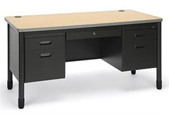 In Stock Steel Post Leg Desk Series