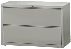 "42""W 2-Drawer Steel Lateral File"