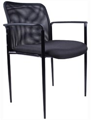 Stackable Mesh Guest Chair
