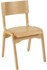 Stackable Solid Beechwood Chair