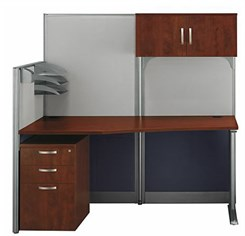 Straight Workstation w/ Storage / Accessory Kit