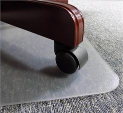36&quot; x 48&quot; Superior-Grade .2&quot; Thick Studded Vinyl Chair Mats - Other Sizes Available