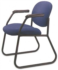 Swirl Sled Base Guest/Conference Chair
