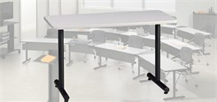 "T-Mate Training Tables - 48"" x 24"" Rectangular Table"