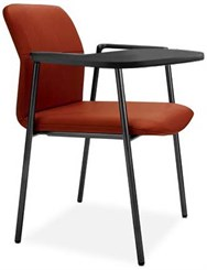Bounce Tablet Arm Chair in Vinyl
