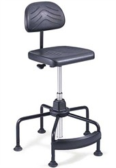 "Task Master Industrial Stool Series w/ 17""-25"" or 27""-35"" Seat Height"