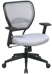 Air Grid Deluxe Task Chair in Shadow Gray
