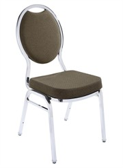 Tear Drop Back Stack Chair