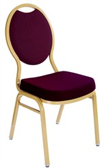 Tear Drop Back Stack Chairs