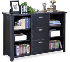 Three-Drawer File/Bookcase