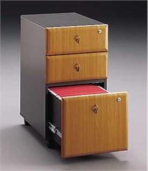 Three Drawer Locking Mobile File