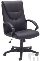 Premier Black Leather Executive/Conference Chair