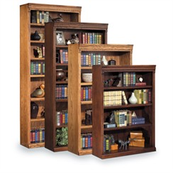 Traditional Oak Bookcases
