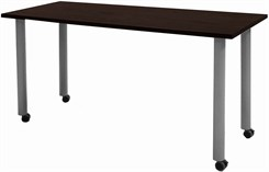 "Mobile 72""x24"" Meeting/Training Table"