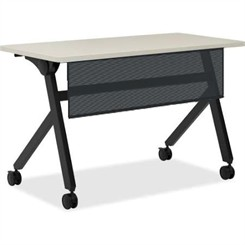 "HON 48""W Flip Top Training Table w/ Modesty Panel"